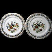 2 Syracuse China Somerset Pattern Dessert Plates