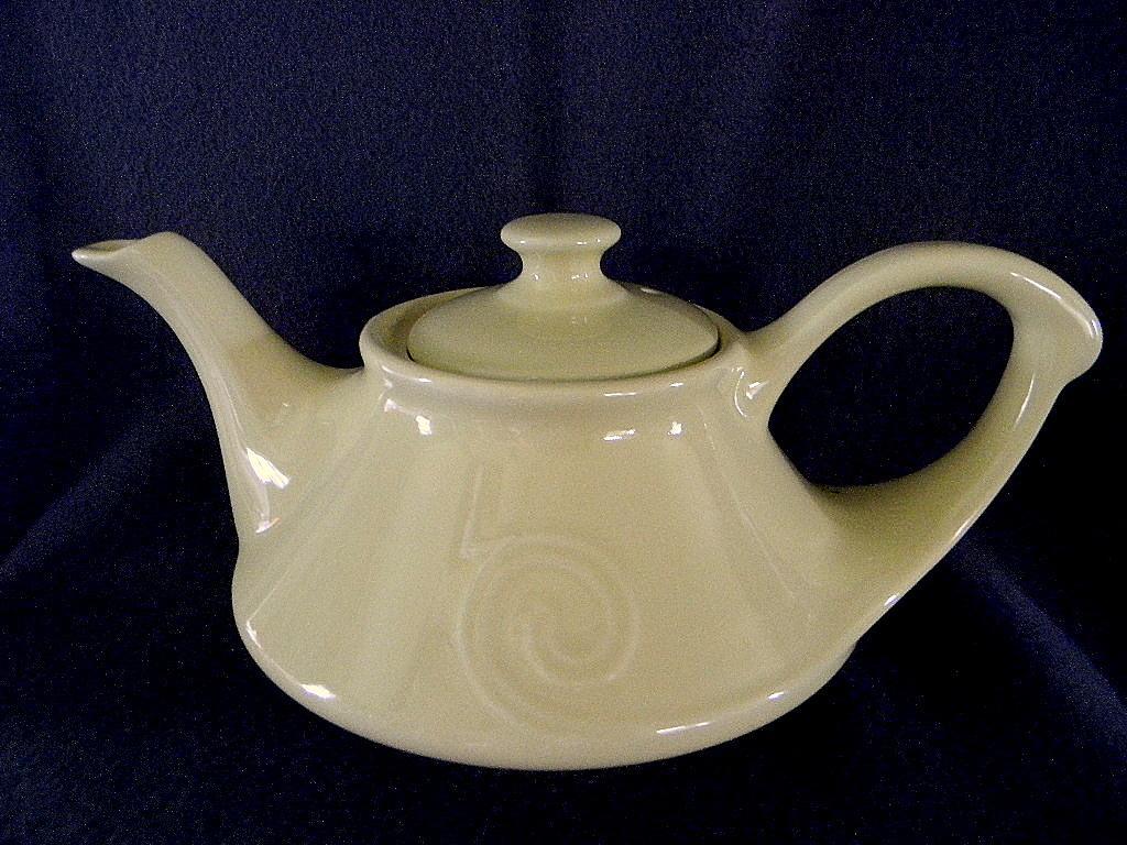 Pearl China Company Art Deco Aladdin Teapot Tea Pot From