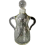 Vintage Hand Blown Two Handled Cruet