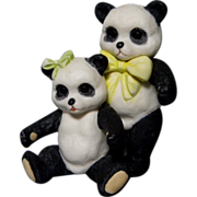 Cybis Boy and Girl Panda Bears