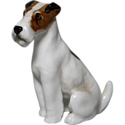Royal Doulton Sitting Fox Terrier
