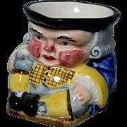 Small Clarice Cliff Tony Philpotts Toby Jug or Sugar Bowl