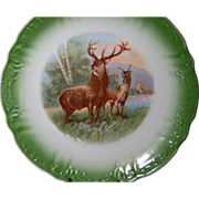 Vintage Regal Elk  Game  Plate or Charger