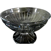 Lovely Sparkling Heisey Pedistaled Bowl