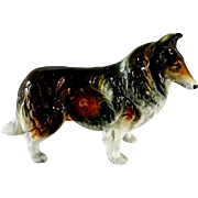 Occupied Japan Collie Figurine - Red Tag Sale Item