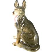 Occupied Japan German Shepard Figurine - Red Tag Sale Item