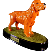 Ceramic Beswick Cocker Spaniel Dog Figurine