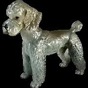 Large Goebel  Poodle Ceramic Dog Figurine