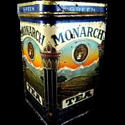Exceptional Monarch Green Tea Tin