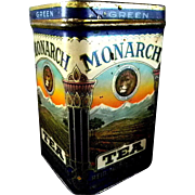 Exceptional Monarch Green Tea Tin