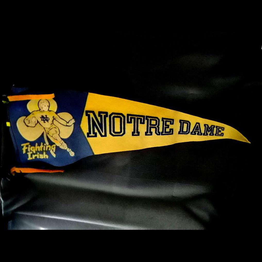 Vintage Notre Dame Football 93