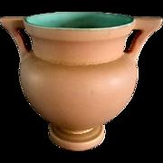 Coors Pottery Matt Brown Vase