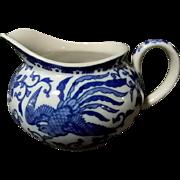 Noritake Howo Pattern Cups & Saucers w/ Creamer