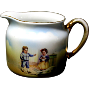 "German  ""The Regatta"" Cream Pitcher"