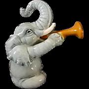 Goebel Elephant w/ Trumpet