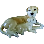 Royal Doulton Yellow Labs
