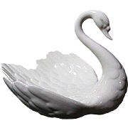 Large Goebel Swan Trinket or Dresser Dish