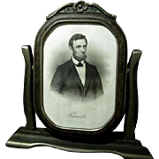 Abraham Lincoln as a Young Man Print in Period Frame