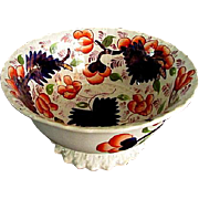 Gaudy Welsh Bowl ** Grape Pattern