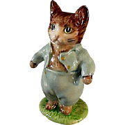 Tom Kitten Beatrix Potter Ceramic Figurine