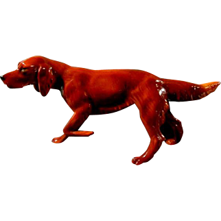 Beautiful Irish Setter Figurine