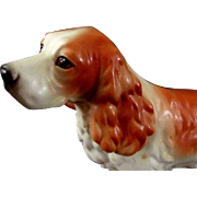 Cocker Spaniel Ceramic Figurine