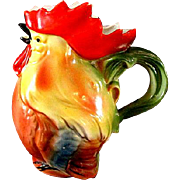 Vintage German Chicken Cream Pitcher
