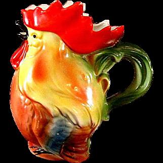 Vintage German Chicken Cream Pitcher