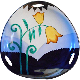 Noritake Hand Painted Lilies of the Valley Serving Dish