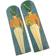 "Circa 1910 Toy Soldiers from J. Pressman & Co. "" Soldiers on Parade"""