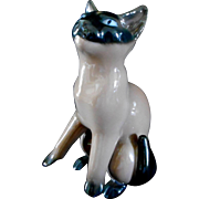 Chocolate Siamese Kitten Porcelain by Bing & Grondahl