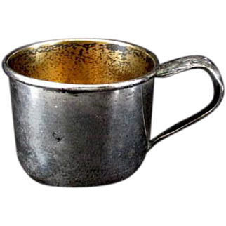 Sterling Silver Baby's Cup