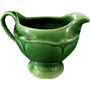 Mount Clemens Pottery Creamer  Petalware Pattern