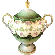 Beautiful Victorian Style Creamer and Sugar Bowl