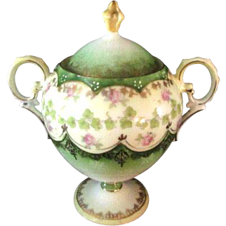Beautiful Victorian Style Creamer and Sugar Bowl