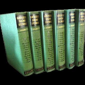 Greatest Short Stories Six Volume Set ** Mark Twain, Edgar Allan Poe, O'Henry, H. G. Wells, Washington Irving, others