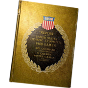 1948 REPORT of the 14th Olympiad and 5th Olympic Winter Games