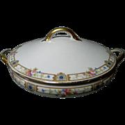 Noritake Carmen Pattern Round Covered Vegetable Bowl