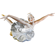 Wallendorf Porcelain Ballerina Dancer German