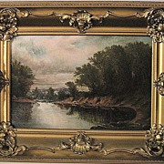 Beautiful Oil Painting of a Landscape