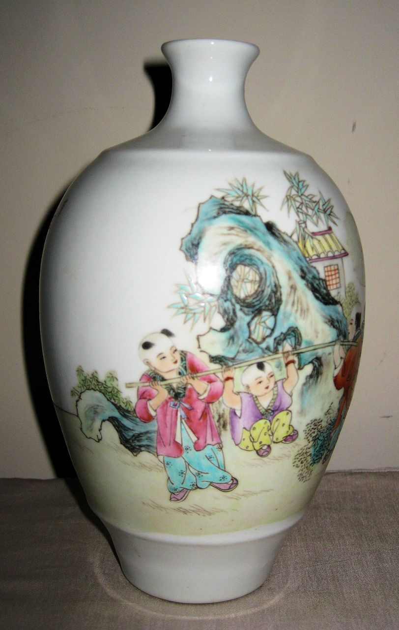 Early 20th c chinese famille rose meiping vase dynasty early 20th c chinese famille rose meiping vase dynasty collections antiques ruby lane reviewsmspy