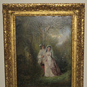 Oil painting by Henry Andrews (1794-1868)