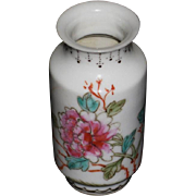 Chinese Early Republic Miniature Baluster Porcelain Vase