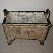 Antique Chinese Bronze Censor