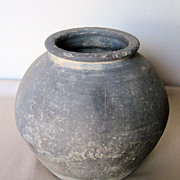 Korean Koro Pottery Jar