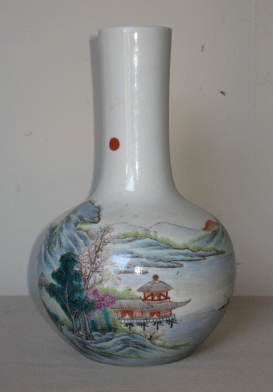 Republic Period Chinese Porcelain Vase From Dynastycollections On Ruby Lane