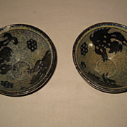 Jizhou Paper- Cut Resist-Decorated Tea Bowls