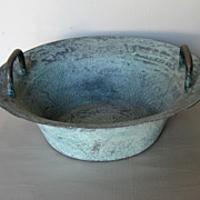 Chinese Bronze Basin