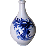 Antique Japanese Ceramic Tokkuri Saki Bottle