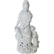 Chinese Porcelain Blanc de chine Guanyin